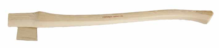"HAN BA28 - 28"" Hickory Replacement Handle for Boys Axe"